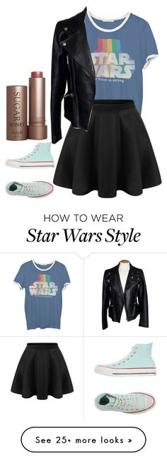 """Untitled #789"" by laurenatria11 on Polyvore featuring Fresh, Junk Food Clothing, Alexander McQueen and Converse"