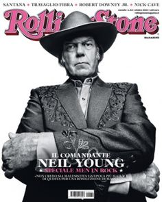 Neil Young on the cover of Rolling Stone