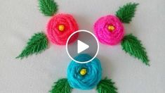 In this video you will learn how to stitch roses by hand with Woven Spider Wheel Stitch also known as Spider Web Stitch step by step in a very easy and simple way. These flowers are very pretty and can be embroidered with any type of thread on any garmen Hand Embroidery Flowers, Hand Embroidery Stitches, Modern Embroidery, Embroidered Flowers, Embroidery Patterns, Learn Embroidery, Quilled Paper Art, Stitch Book, Embroidery For Beginners