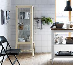 Vitrineskap Fabrikör fra IKEA - 1 skap - 15 stiler 08