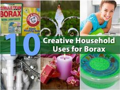Borax has been around for years and was originally discovered in Tibet in dry lake beds. It was commonly used during the 19th century for laundry and other cleaning purposes. Also known as sodium borate, Borax today is still used for many cleaning purposes as well as many other...