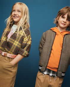 ZARA - #zaraeditorial - KIDS | CAMPAIGN Look at that girl's outfit!! Love!