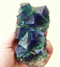 "mineralists: "" Rogerley Mine cubed Fluorite Specimen """