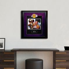 51c1765cff8 Signed + Framed Artist Series    Jerry Buss