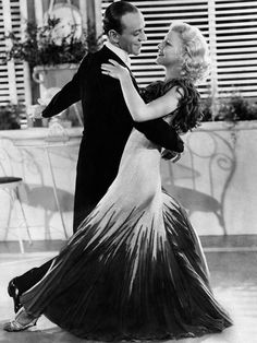 """Fred Astaire and Ginger Rogers.. """" I did everything he did but backwards and in heels"""""""