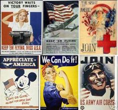 WW2 American Propaganda Posters Lesson Plan with Poster analysis worksheet