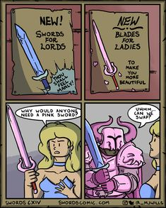 Tagged with comics, comic, webcomic, fantasy, dungeons and dragons; My Rare Collection of Sword Comics Funny Shit, Dnd Funny, Stupid Funny Memes, Funny Relatable Memes, Funny Cute, Funny Stuff, Siri Funny, Random Stuff, Marvel Girls