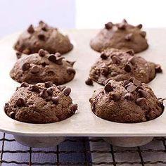 Dark Chocolate Mini Muffins