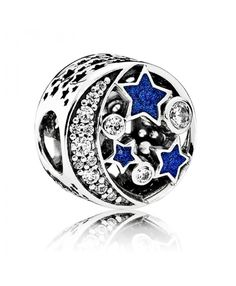 Pandora Christmas Vintage Night Sky Charm