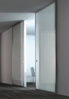 Renovation of the penthouse apartment at the Plaza Hotel in New York City, sliding door by Modernus _