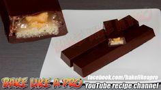 Easy Peanut Caramel Sugar Cookie Chocolate Bar Recipe Chocolate Bar Recipe, Chocolate Cookies, Sugar Cookies, No Fail Sugar Cookie Recipe, Best Pie, Best Food Ever, Recipe Please, Pie Recipes, Food Videos