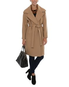 Camel Wool Coat | N°21 | The wardrobe essential - for mid-afternoon running around look chic in a camel coat | Available now at Halsbrook.com