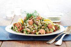Savukalatabbouleh ohrasta | K-ruoka #salaatti