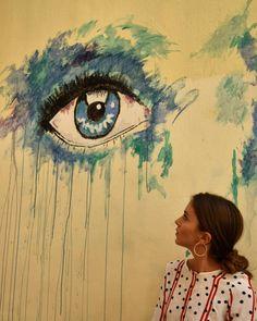 Eye contact ❣ #graffitiwalls #urbanstreetart #streetart_addiction #roundphot0 #total_urbanart #rsa_graffiti_murals #ig_graffiti…