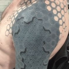 Awesome Deus Ex Tattoo