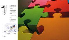 Puzzle Pouff #design #puzzle #pouff
