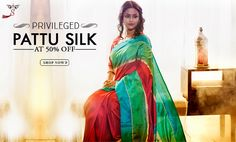 Glorious looking and light weight, pattu silk sarees hail from south of India.