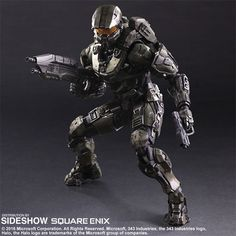HALO Master Chief Collectible Figure by Square Enix | Sideshow Collectibles