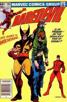 Daredevil #196 - Enemies (Issue)