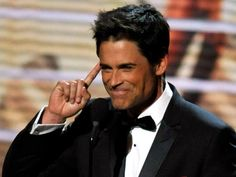 """Rob Lowe - Leaves """"Brothers and Sisters"""" early. Rob Lowe, Back Off, Divorce, Lowes, Eye Candy, Brother, Sisters, Character, Lettering"""