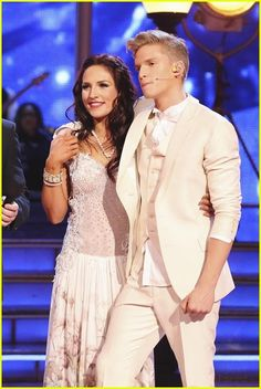 Cody Simpson and Sharna Burgess get judges feedback on #DWTS Week 4 (4/7/14)