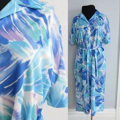 #Vintage #80s Shift #Dress Size XL L Nancy by AmbassadorGrooviness