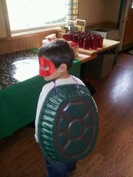 tmnt party - cute idea! He's so into turtles right now :D his favorite!!