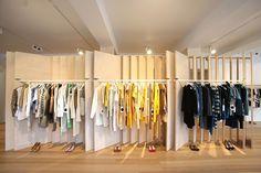 Bassike store by Akin Creative, Melbourne store design