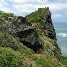 The Crouching Lion hike on Oahu, Hawaii