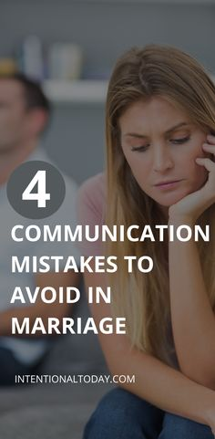 Do you feel like the enemy whenever you bring up areas of concern with your spouse? Perhaps you can't talk about problems without triggering each other and escalating tensions. Here are 4 common mistakes you might be making and how to avoid them #communicationinmarriage #intentionaltoday #marriageadvice Communication In Marriage, Intimacy In Marriage, Communication Styles, Communication Problems, Marriage Advice, Do You Feel, How Are You Feeling, Just Pray, National Institutes Of Health