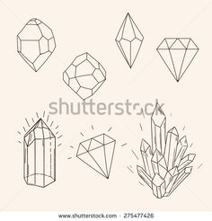 crystal illustration geometric - Google Search