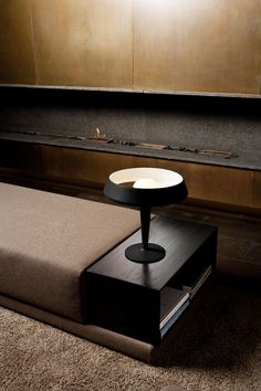 The Aerodrome lamp is inspired by the aerodynamic design of airplanes turbine engines as well as by the glorious tradition of modern Scandinavian design of the Produced by Northern Lighting. Red Table Lamp, Light Table, Lamp Light, Design Light, Lighting Design, Lighting Ideas, Home Interior, Interior Architecture, Console Table
