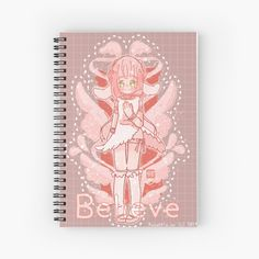 My Notebook, Spiral, Believe, My Arts, Art Prints, Printed, Awesome, Artist, Shop