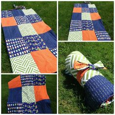 Items similar to ON SALE - Beach Outdoor Blanket Waterproof - Lighthouse Boat Blanket - Navy Flags, Green, Orange Chevron Sailor on Etsy Picnic Blanket, Outdoor Blanket, Navy Flag, Orange Chevron, Ahoy Matey, Romantic Picnics, Picnic Time, Lighthouses, Beach Towel