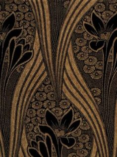 Dazy May Art Deco Art Nouveau Vintage Art Deco Art Nouveau Vintage Wallpaper Art Deco, Trendy Wallpaper, Wall Wallpaper, Pattern Wallpaper, Wallpaper Designs, Art Deco Furniture, Modular Furniture, Furniture Logo, Furniture Showroom