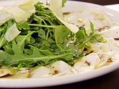 Mushroom Carpaccio Recipe : Claire Robinson : Food Network - FoodNetwork.com