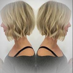 SnapWidget | ✨ #UNITEhairoftheday ✨ goes out to @robinbro from @salon101_lb for this blonde blunt bob (say that 5 times fast). Love this #TEXTURIZA look, cut and color! #UNITEfamily