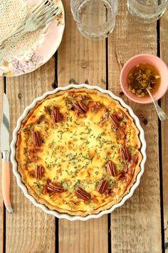 receta de tarta de queso stilton