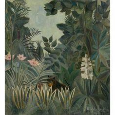 The Equatorial Jungle Canvas Art - (24 x 36)