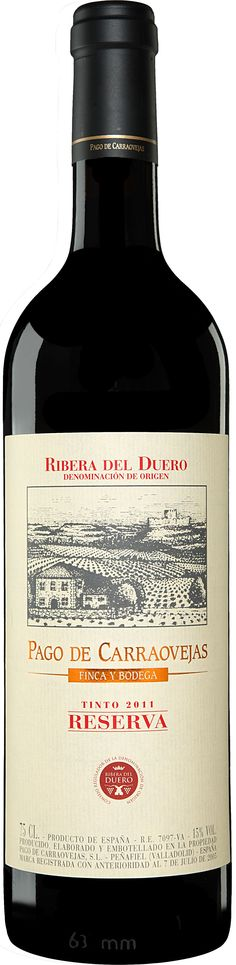Wine Labels - Pago de Carraovejas Reserva 2011 Tinto
