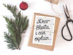 Weihnachten - Weihnachtskarten Set / Christmas - ein Designerstück von typealive bei DaWanda