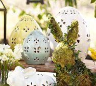 Pierced Ceramic Eggs
