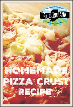 Homemade pizza is so easy to make, you won't believe it! It's a healthy, fast to fix lunch or dinner that takes no time at all to throw together. We have pizza as a meal once a week thanks to this fabulous pizza crust recipe. Use it in the oven or on the grill. It's versatile--and fantastic!