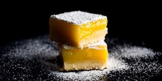 NYT Cooking: Traditional lemon bars balance the tangy sweetness of lemon curd with a rich shortbread crust. This recipe adds extra notes of flavor to the mix: the compelling bitterness of good olive oil and a touch of sea salt sprinkled on top. No Salt Recipes, Cooking Recipes, Lemon Recipes, Cooking Tips, Pie Recipes, Cooking Games, Cooking Videos, Family Recipes, Cooking Classes