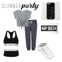 """""""comfy"""" by chelseahymer ❤ liked on Polyvore featuring Sundry, Calvin Klein and slumberparty"""