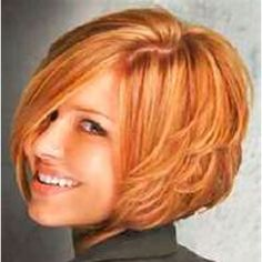 A-line layered bob - Love the layers, but would be a pain to grow out.