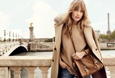 Dreaming of Paris thanks to @MichaelKors new Fall catalog. #AutumnLuxe