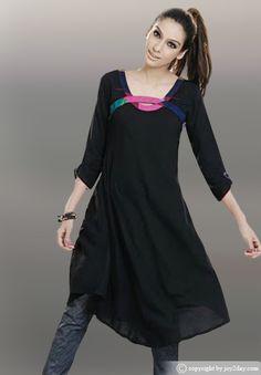 kurtas for women | Kurtas are worn both as casual everyday wear and as formal dress.Women ...