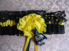 Handmade Bride Wedding Batman Super Hero by RockababyBibsNBobz