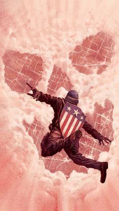 Marvel Dc Comics, Marvel Heroes, Marvel Avengers, Comic Book Characters, Marvel Characters, Comic Books Art, Comic Art, Capitan America Marvel, Marvel Captain America